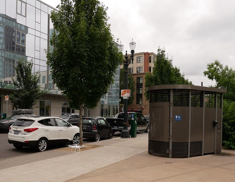 Arvada proudly welcomes its first Portland Loo.