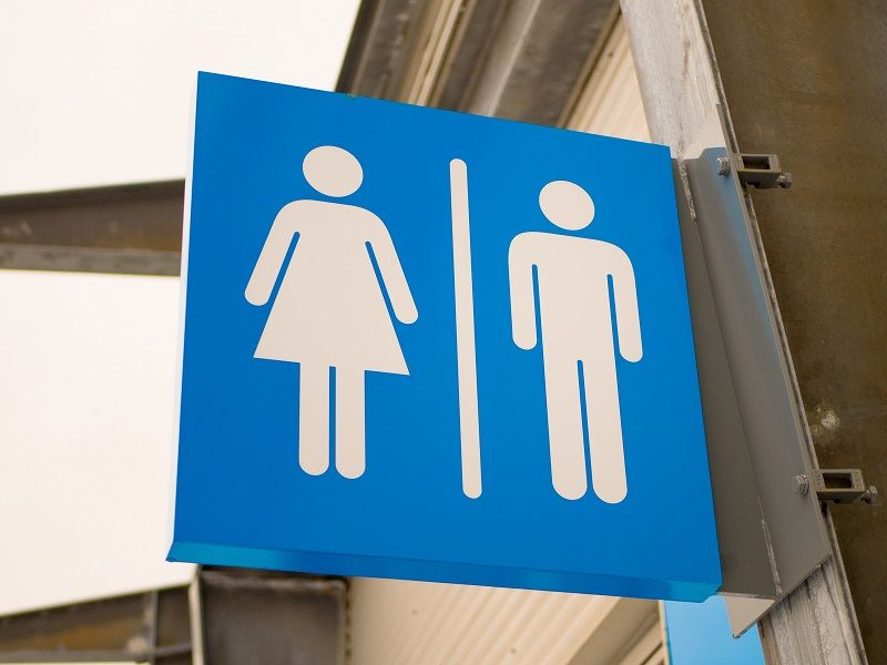Outdoor-blue-toilets-sign-cm
