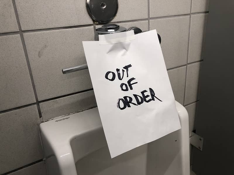 Out of order toilet -1-cm